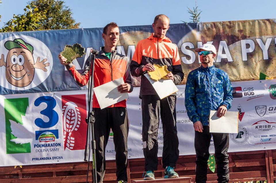 Zwycięzcy 3 Hochland Półmaratonu Doliną Samy