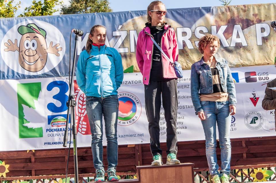 Najlepsze kobiety 3 Hochland Półmaraton Doliną Samy