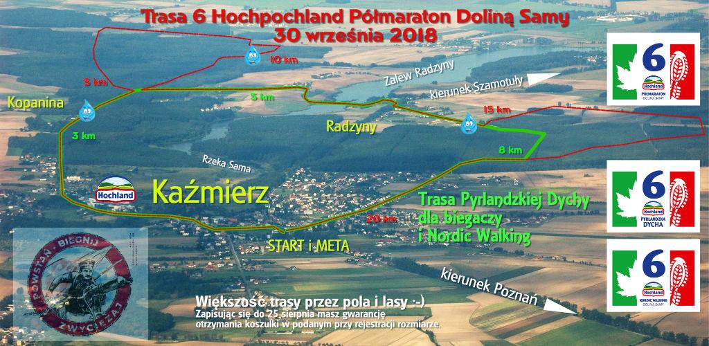 6 Hochland Półmaraton Doliną Samy, Pyrlandzka Dycha oraz Nordic Walking - 30 września 2018
