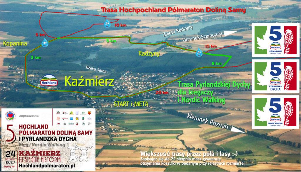 5 Hochland Półmaraton Doliną Samy, Pyrlandzka Dycha oraz Nordic Walking - lot