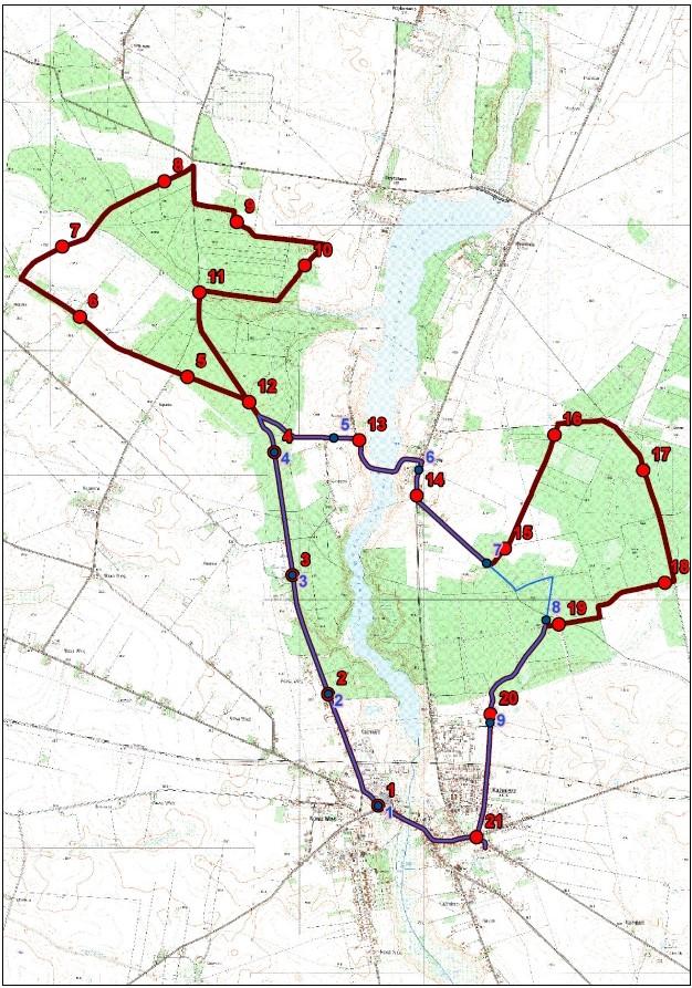 5 Hochland Półmaraton Doliną Samy, Pyrlandzka Dycha oraz Nordic Walking - km